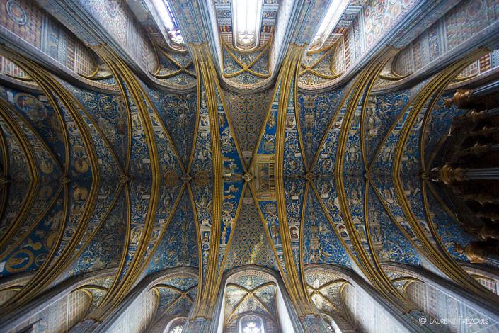 Voûte de la cathédrale d'Albi