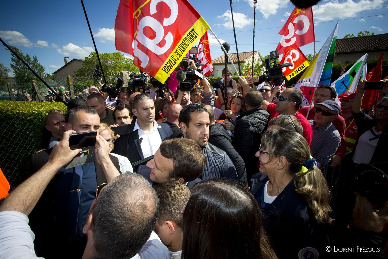 Alexandre Benalla le garde du corps controversé d'Emmanuel Macron à Albi