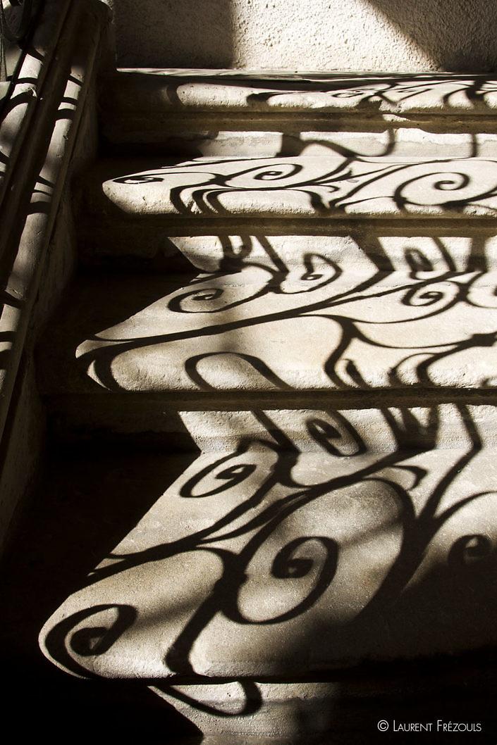 Escalier à l'Hôtel de Poncet à Castres