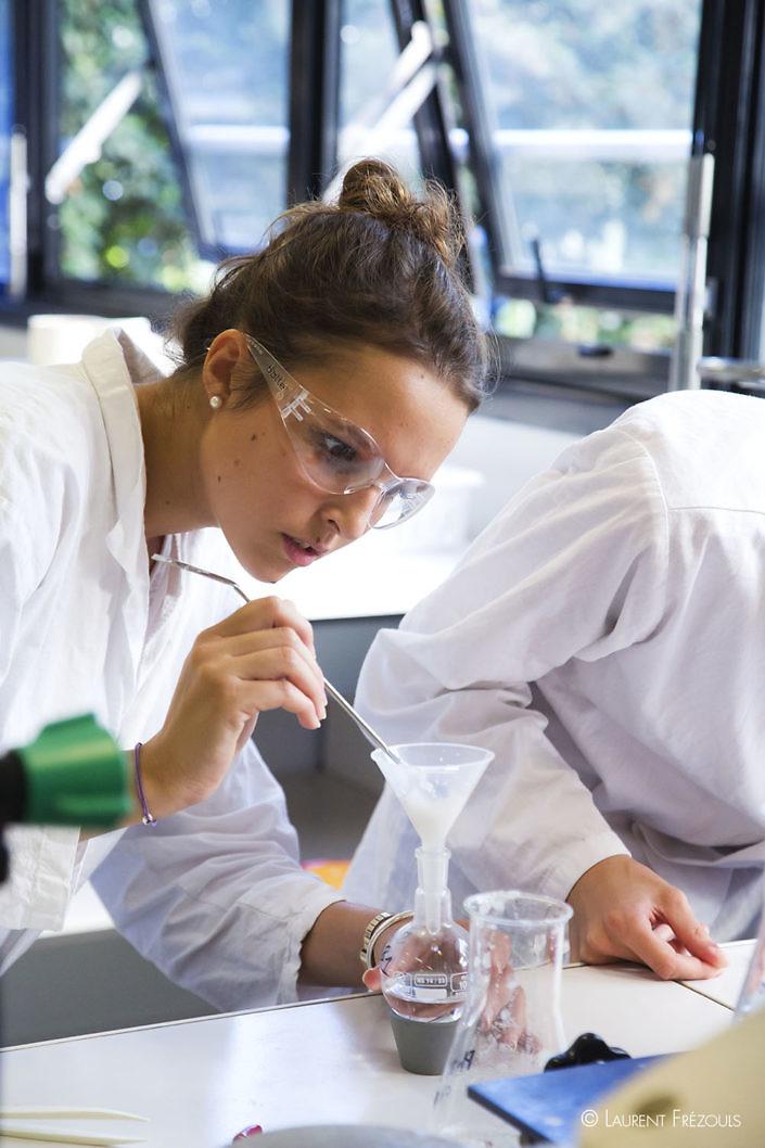 Etudiante à l'IUT de chimie de Castres