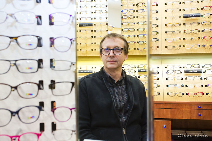 Frédéric Irlat, opticien Krys à Mazamet