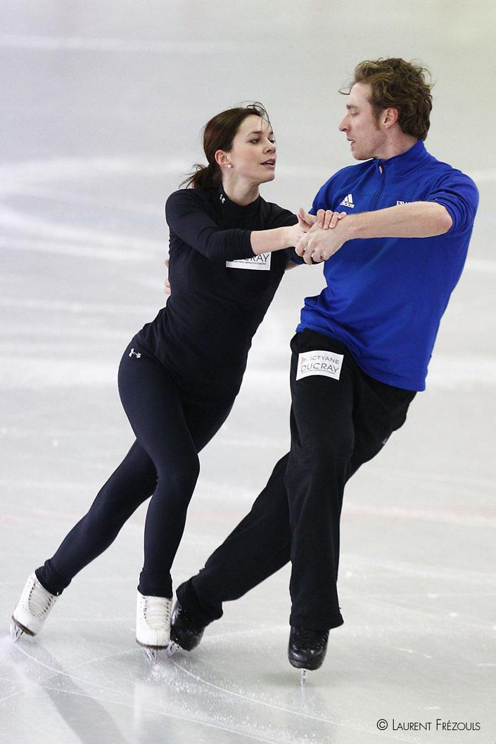 Nathalie Pechalat et Fabian Bourzat