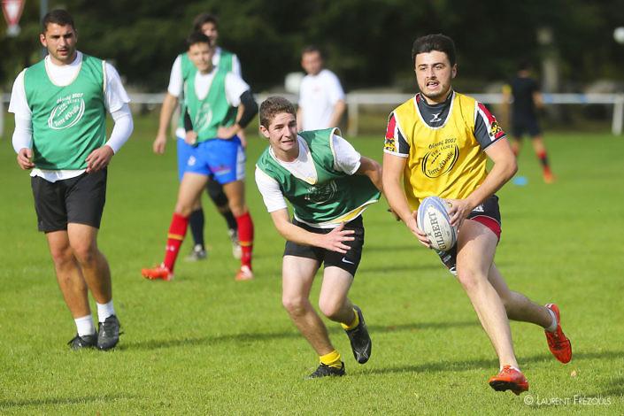 Rugby défi sur le campus à Castres