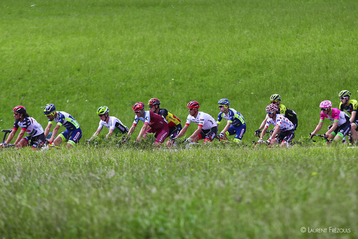 Tour de France 2018 au col de Caunan sur la commune du Bez