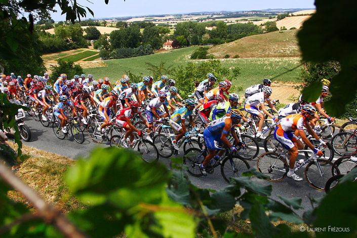 Tour de France 2010 à Lautrec
