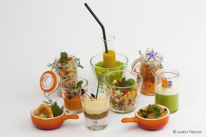 Gastronomie en verrines